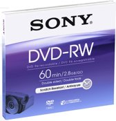 Sony Mini DVD-RW 60 min. 2.8 GB Double sided (1 stuk)