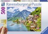 Ravensburger puzzel Hallstatt in Oostenrijk - Legpuzzel - 500 stukjes