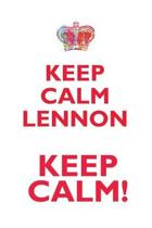 Keep Calm Lennon! Affirmations Workbook Positive Affirmations Workbook Includes