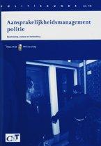 Politiekunde 12 - Aansprakelijkheidsmanagement politie