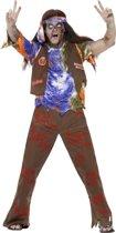 Zombie hippie Halloween kostuum voor heren  - Verkleedkleding - Medium