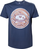 Star Wars The Force Awakens BB8 Print Blue TShirt XL