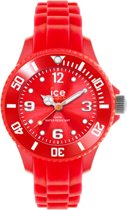 Ice-Watch Ice Forever Mini Red  SI.RD.M.S.13  Horloge - Siliconen - Rood - 30 mm