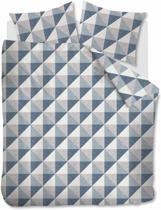 Beddinghouse Stairs -  Dekbedovertrek - Flanel - Lits-jumeaux - 240x200/220 cm - Blauwgrijs