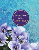 Seven Year Planner 2019 - 2025 Cariad