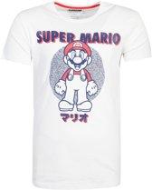 Nintendo - Super Mario Anatomy Mario T-shirt - S