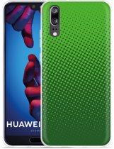 Huawei P20 Hoesje groene cirkels