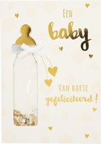 Een baby van harte gefeliciteerd!