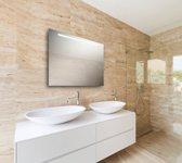 Spiegel met LED verlichting horizontaal 60x80 cm