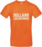 Leeuwinnen | T-shirt | (XXL) oranje