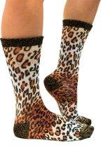 Sock My Lynx - Damessok - Katoen - geprinte sok
