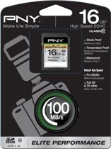 PNY 16GB SDHC 16GB SDHC Class 10 flashgeheugen