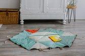 abwesterink Het Leesdoek - bouw je eigen leeshoek - educatief product - leesbevordering - textiel - hout
