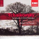 Tchaikovsky: Symphonies 4, 5 &
