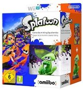 Splatoon + Inkling Squid amiibo bundel - Wii U