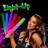 LED Foam Partystaaf Multi Color Party Sticks 144 Stuks