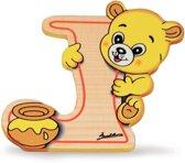 Alfabet letter hout groot J | Bartolucci