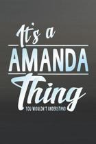 It's a Amanda Thing You Wouldn't Understand