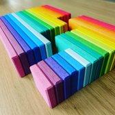 Houten Bouwpakket Rainbow - 32st