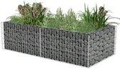 vidaXL Gabion plantenbak 180x90x50 cm