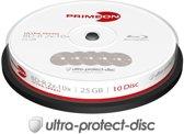 Primeon 2761307 25GB BD-R Lees/schrijf blu-ray disc