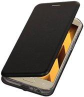 Mobieletelefoonhoesje.nl - Samsung Galaxy A5 2017 Hoesje Slim Folio Case Zwart