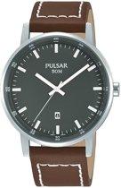 Pulsar PG8263X1 horloge heren - bruin - edelstaal