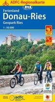 ADFC-Regionalkarte Ferienland Donau-Ries / Geopark Ries, 1:50.000