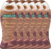 Palmolive Douchecrème Chocolate Passion - Voordeelverpakking - 6 x 250ml