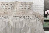 Sleeptime Goodnight Wood - Dekbedovertrek - Eenpersoons - 140x200/220 + 1 kussensloop 60x70 - Taupe