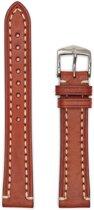 Hirsch Horlogeband -  Liberty Artisan Goudbruin- Leer - 22mm