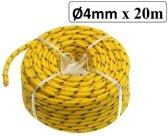 Nylon Koord / Touw 4 mm X 20 meter