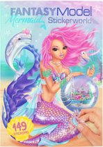 Fantasy Model Mermaid Stickerboek