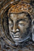 Boeddha Schilderij 80cmx120cm