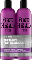 Tigi Dumb Blonde Shampoo & Conditioner Duo - 1500ml