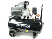 Airgoo AG-50 compressor 50 liter - 8 bar - 238l/min - 3PK