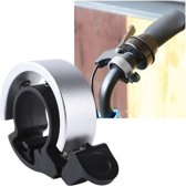 Fietsbel – Ring Fietsbel - Aluminium Fietsbel - Classic Fietsbel - Fietsbel Large – Zilver
