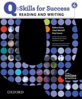 Q: Skills for Success- Reading and Writing 4 student book + online practice