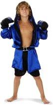 Knock Out set met handschoenen en riem maat 134/146
