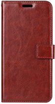 OnePlus 5 - Bookcase Bruin - portemonee hoesje