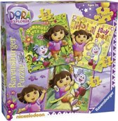 Ravensburger 3-in-1 Puzzel - Dora the Explorer