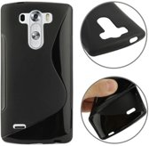 LG Optimus G3 S - hoes, cover, case - TPU - zwart