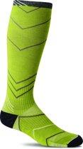 Sockwell sokken compressiekousen / wandelsokken / reiskousen SW8W.415:M/L Incline Knee High limelight
