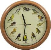 Klok met vogelgeluiden - Ieder uur een ander geluid