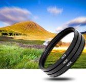 3x 37mm ND Filter grijsfilter +2+4+8 camera lens filter