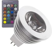 GU5.3 3W  60º RGB Led Lamp (12VDC)
