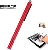 DrPhone - SX Pro V5 Premium Stylus Pen Precisie Disc Capacitief