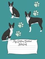 My Boston Terrier Notebook