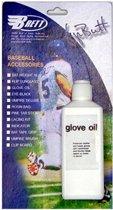 Honkbalhandschoen olie