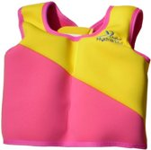 New Swim Trainer Jacket Size 1(1-2 yr)Girls pink/Yellow